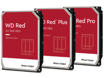 WD RED, WD RED PLUS, WD RED PRO